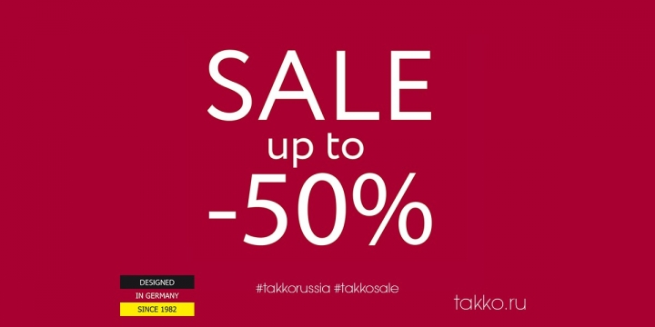 Takko Fashion – SALE up to 50%